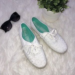 Keds Eyelet White Keds Sneaker Shoes 👟